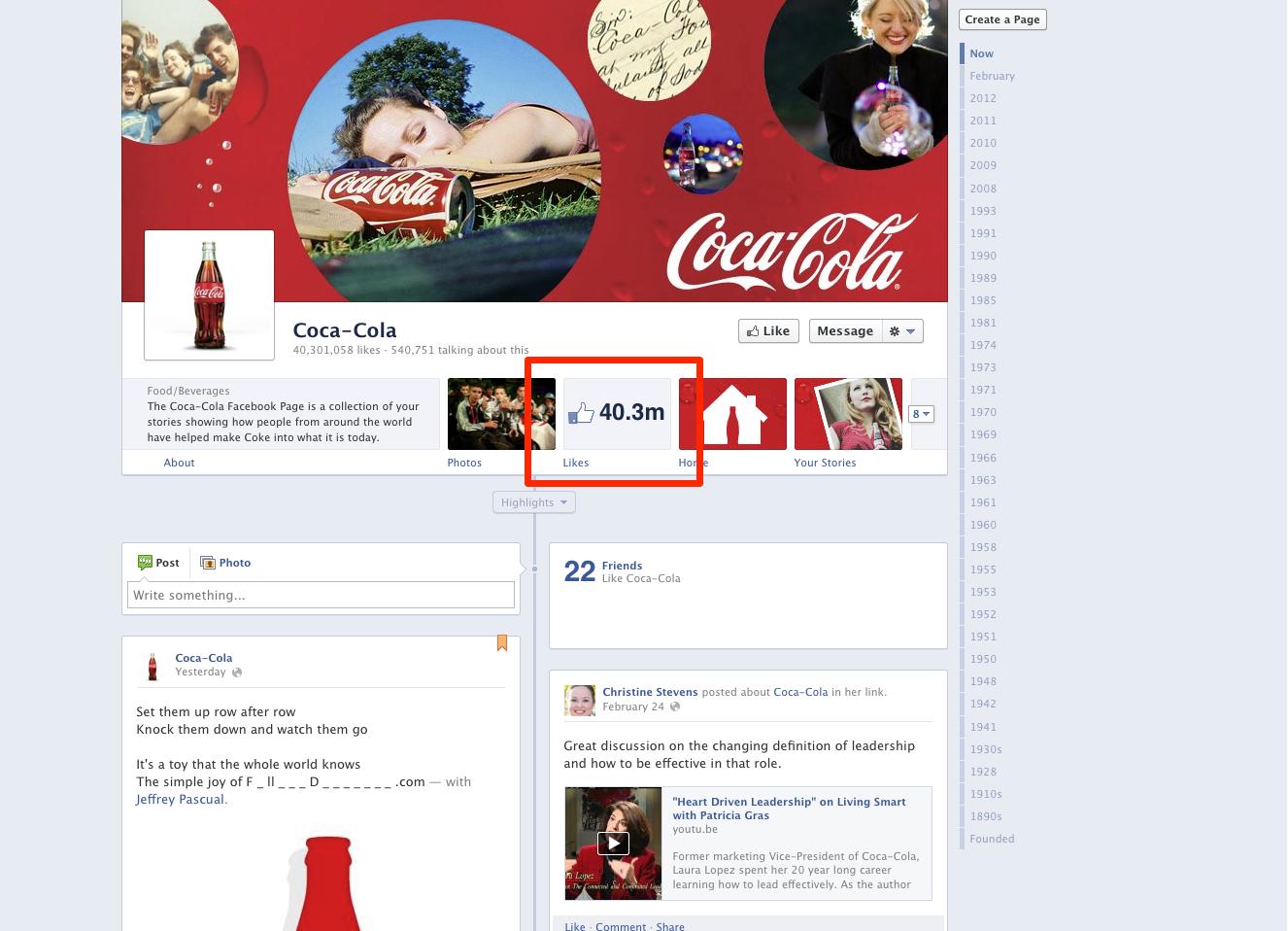 Cola Likes 2012