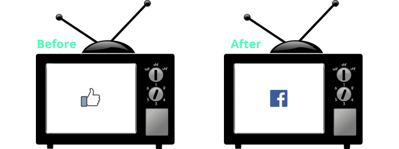 Facebook Before & After TV Ad